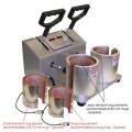 Tvillingpresse trykk på kopper